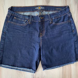 Lucky Brand Denim Abbey Raw Hem Shorts